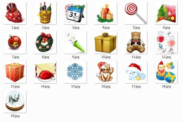 酷手机新年表情下载 酷符号新年33包娘符号图片