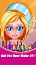 牙教师护理沙龙*美女面部改头换面仙子化妆温90后魔法美女最图片