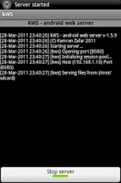 KWS - 安卓网页服务器