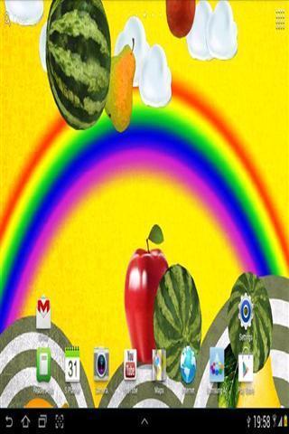水果可爱聊天背景