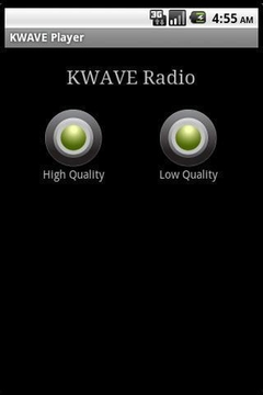 KWAVE Radio Player