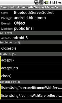 安卓API浏览器