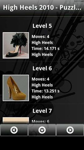 高跟鞋拼图2010