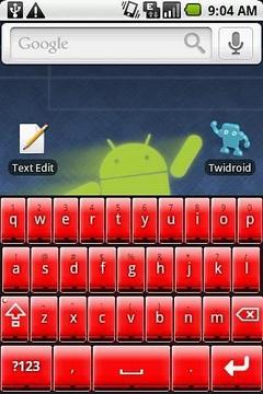 Better 键盘红色皮肤