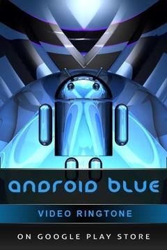 数字时钟ANDROID BLUE