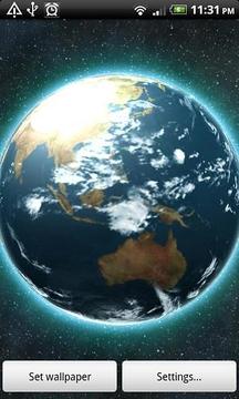VA Earth Live Wallpaper LITE