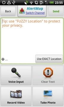 警报地图 Alert Map