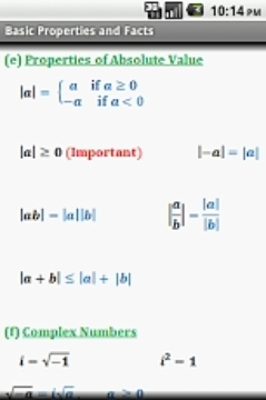 Algebra Cheat Sheet (Free)