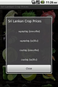 Sri Lanka Crop Prices