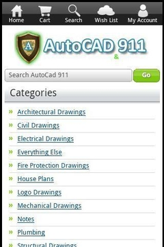 AutoCAD 911 - Drawing Download