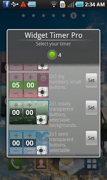 Widget定时器 Widget Timer
