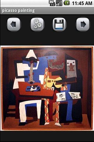 毕加索绘画画廊