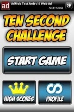 Ten Second Challenge