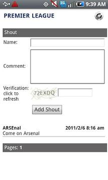Premier League Chat