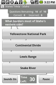 国家花絮 - 爱达荷州