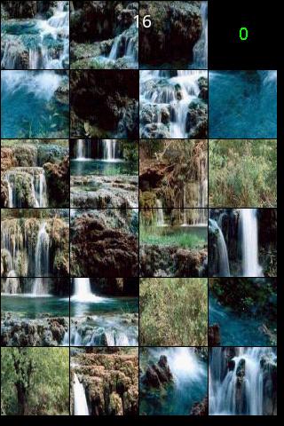 风景拼图之高山流水
