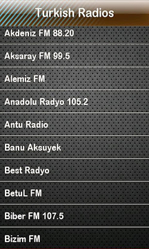Turkish Radio Radios