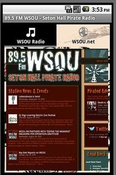 89.5调频WSOU