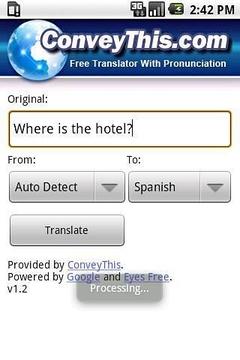 Translator ConveyThis