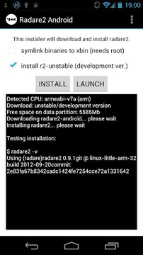 Radare2 for Android