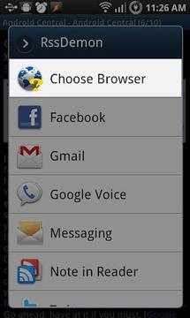 选择浏览器
