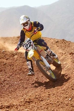 Off Road Motorcycle Racing