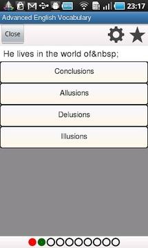 高级英语词汇