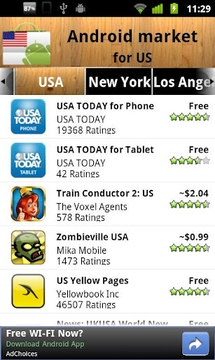 USA Android Market