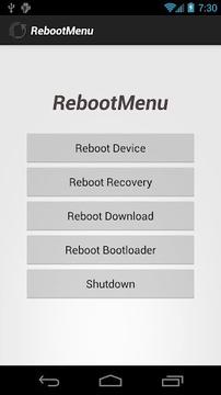 Reboot Menu [No Ads]