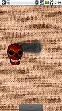 Burning Skull Wallpaper