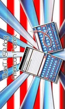SlideIT keyboard USA skin