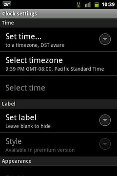 Amplizine Classic Clocks Lite