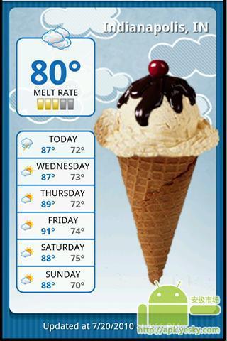 冰淇淋天气