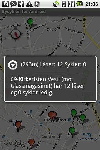 Android的城市自行车
