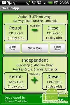 燃料价格显示器