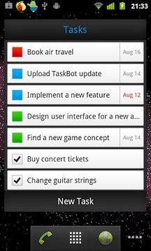 TaskBot - To-do List