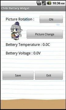 Chibi Battery Widget (Free)