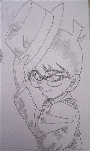 名侦探柯南手绘