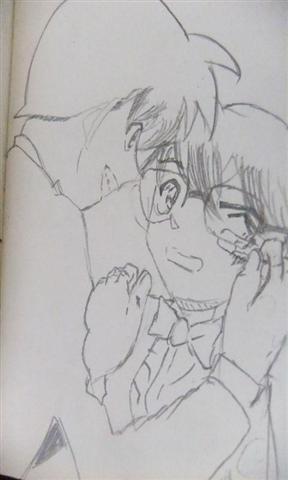 名侦探柯南手绘截图(3)