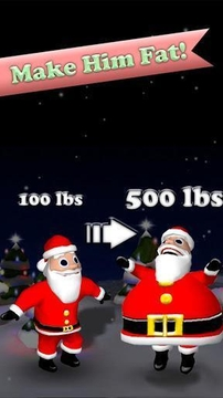 饥饿的圣诞老人