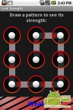 锁模式的强度