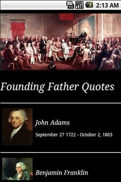 Founding Father Quotes