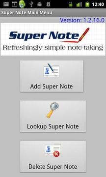 Super Note