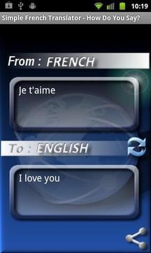Simple French Translator