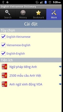 English Vietnamese Dictionary
