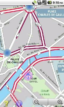 Offline GPS Paris bike paths