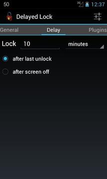 延时锁屏 Delayed Lock