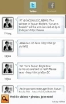 Susan Boyle - Fans Channel