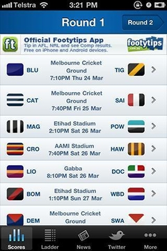 AFL Live Scores Footy Now
