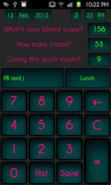 D.O.T. Beta (Insulin Calc)